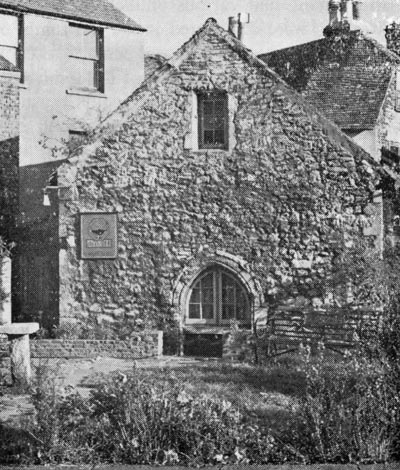 PHOTO: St Edmund's chapel, Dover.