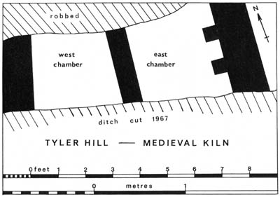 DRAWING: Plan of the Kiln.